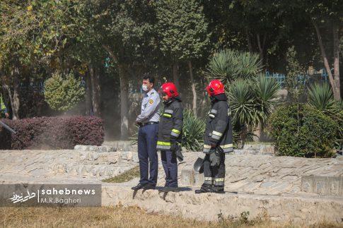 آتش در زاینده رود (7)