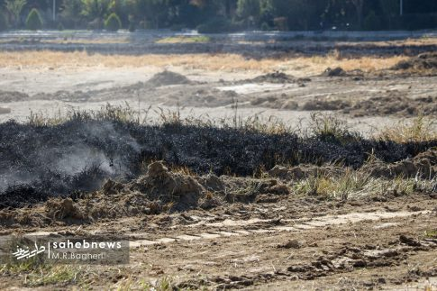 آتش در زاینده رود (9)
