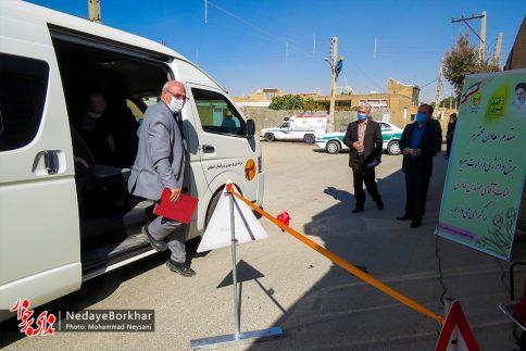 آغاز پروژه تبدیل شبکه برق فشار ضعیف به کابل خودنگهدار در برخوار (24)