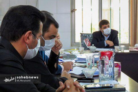 یک روز حضور حاجی دلیگانی در حوزه انتخابیه و جلسه با مدیران (1)