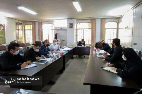 یک روز حضور حاجی دلیگانی در حوزه انتخابیه و جلسه با مدیران (2)