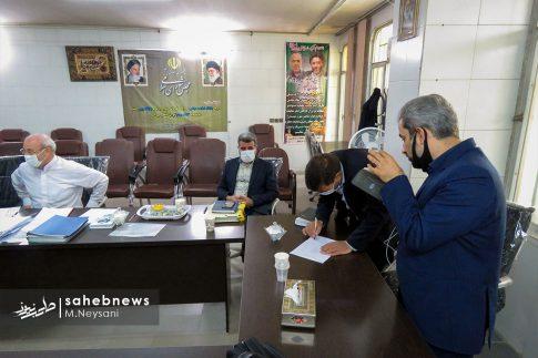 یک روز حضور حاجی دلیگانی در حوزه انتخابیه و جلسه با مدیران (3)