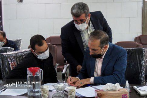 یک روز حضور حاجی دلیگانی در حوزه انتخابیه و جلسه با مدیران (8)