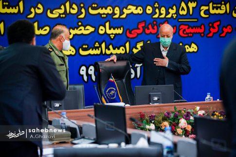 افتتاح 53 پروژه محرومیت زدایی بسیج سازندگی اصفهان (10)