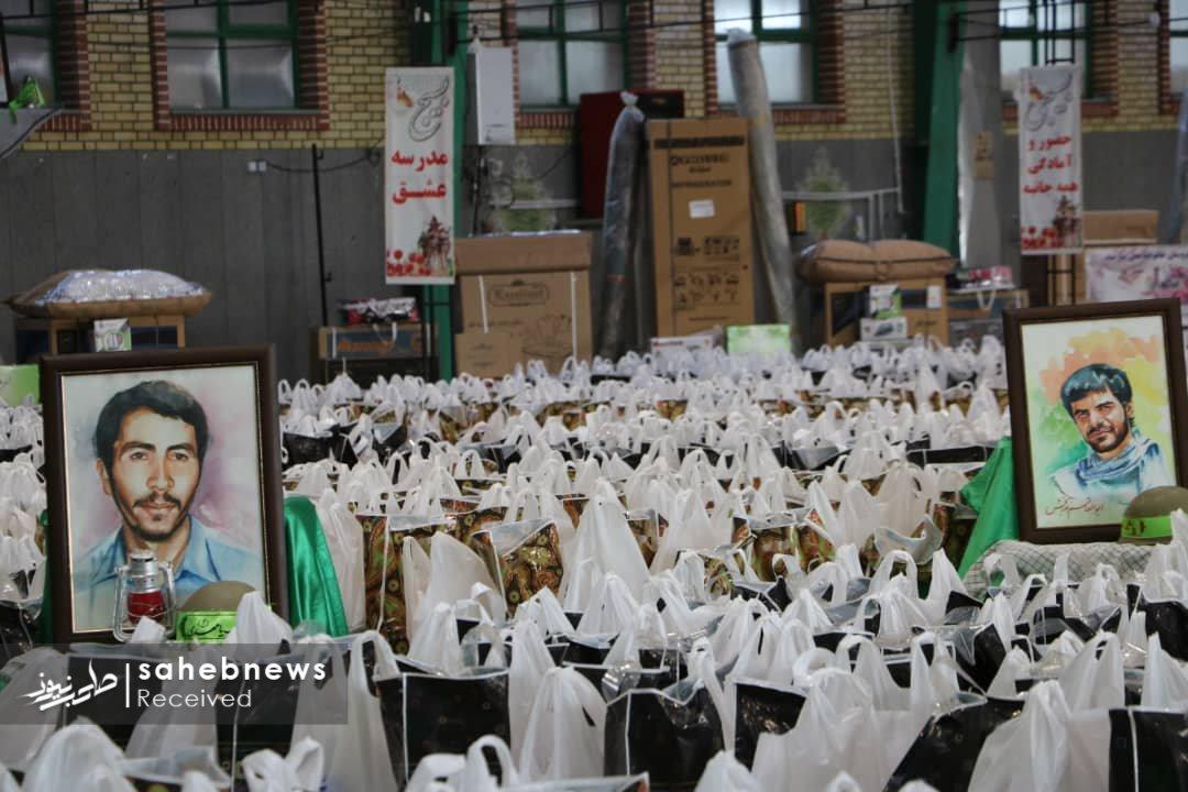 توزیع بسته های معیشتی خمینی شهر (24)