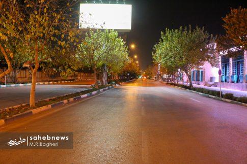 محدودیت های تردد در اصفهان (1)