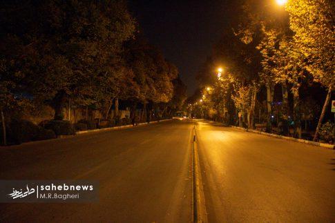 محدودیت های تردد در اصفهان (15)