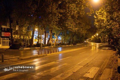 محدودیت های تردد در اصفهان (16)