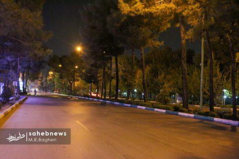 محدودیت های تردد در اصفهان (3)