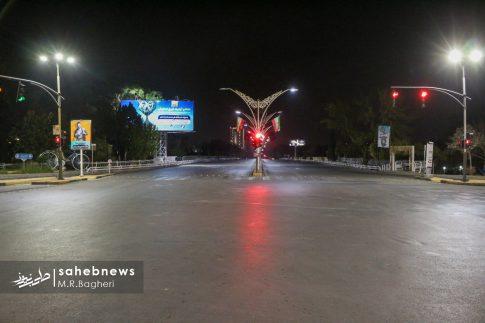 محدودیت های تردد در اصفهان (4)