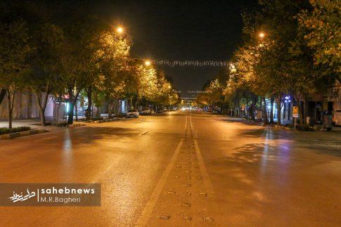 محدودیت های تردد در اصفهان (5)