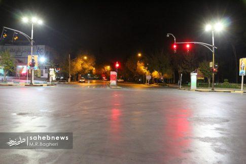 محدودیت های تردد در اصفهان (7)