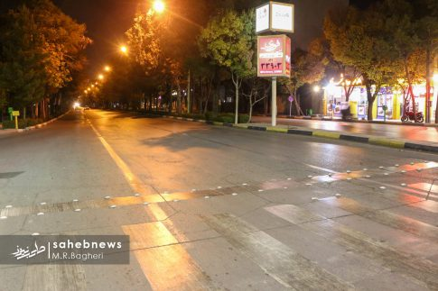 محدودیت های تردد در اصفهان (8)