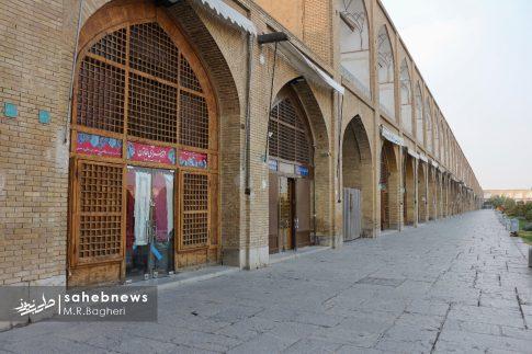 محدودیت های کرونایی در اصفهان (15)