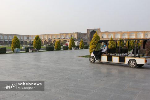 محدودیت های کرونایی در اصفهان (17)