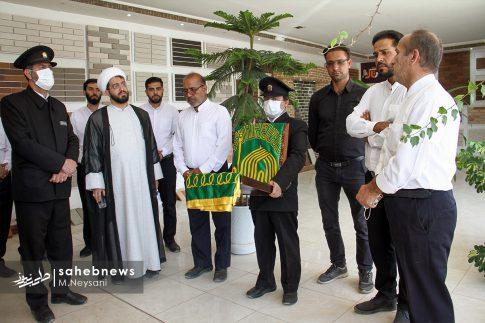 حضور خادمین امام رضا (ع) در کارخانه آجر کمالی نما دولت آباد + تصاویر (4)