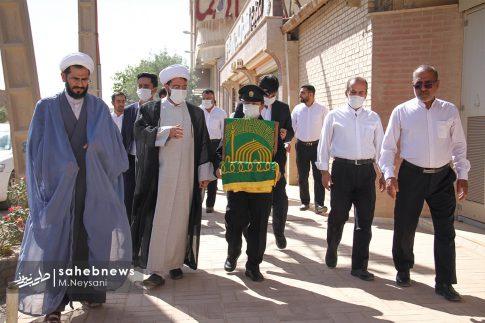حضور خادمین امام رضا (ع) در کارخانه آجر کمالی نما دولت آباد + تصاویر (5)